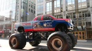 monster trucks shows 2014 toyota tundra monster trucks storm into sema