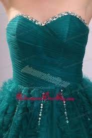 teal tulle sweetheart teal tulle beading and ruffles quinceanera dress 180 67