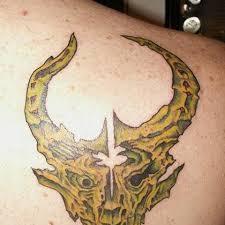 tattoos demon hunter