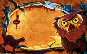 owl halloween background wallpaper wallpaper halloween widescreen