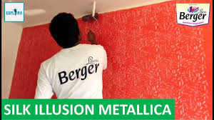 Berger Silk Paint Designs