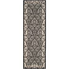 Indoor Outdoor Rugs Home Depot by Safavieh Courtyard Terracotta Bone 2 Ft 3 In X 14 Ft Indoor