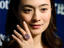 pink star diamond ring pink star u0027 diamond fetches record 71 2mn in hong kong business