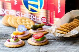 easy ritz cracker canapés video the view from great island