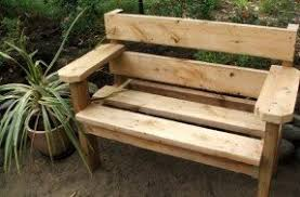 Outdoor Garden Bench Plans by Outdoor Wooden Benches Foter