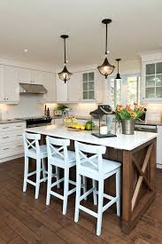 bar stools kitchen style with white awesome island ideas ideal