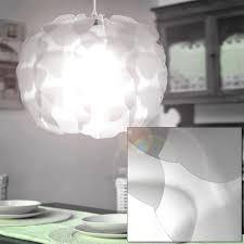 Schlafzimmer Leuchte Pendellampe Aus Stahl Und Weißem Schirm Zum Zusammenstecken Lampen