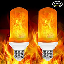 why led light bulbs flicker amazon com led flame bulb fabal 360 flame flickering effect fire