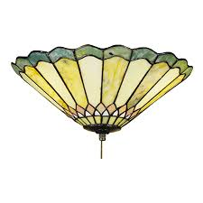 Craftsman Style Ceiling Fan Top 10 Tiffany Style Ceiling Fan Light Shades For 2017 Warisan
