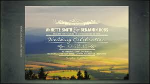 mountain wedding invitations read more sunset mountains wedding invitation wedding