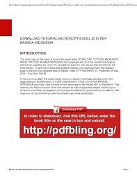 tutorial visual basic excel bahasa indonesia microsoft excel manual pdf ms excel tutorial show formulas excel