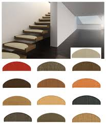 stufenmatten fuer treppe sisal stufenmatte treppenschoner 2 größen versch farben