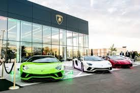 lamborghini all car lamborghini opens two dealerships in america with grand