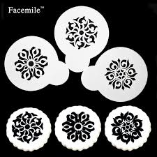 Flowers Bread Store - aliexpress com buy facemile 3pcs different style flowers sweet