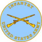 infantry crossed rifles