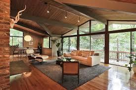 midcentury modern midcentury modern esque u0027deck house u0027 in sandy springs 550k
