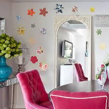 vintage flower vinyl wall stickers by oakdene designs vintage flower vinyl wall stickers