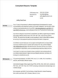 Filmmaker Resume Template 10 Consultant Resume Templates Free Word Pdf Samples