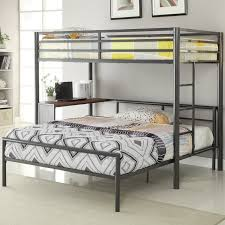 Wildon Home  Twin Over Full LShaped Bunk Bed  Reviews Wayfair - L shaped bunk beds twin over full