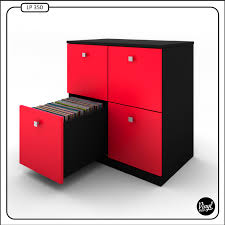 Lp Record Cabinet Furniture Lp Record Cabinet By Vinyl Bop Each Drawer Holds About 90 Records