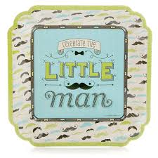 mustache baby shower theme dashing mustache party baby shower dinner plates 8
