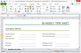 Excel Timesheet Template With Formulas Bi Weekly Timesheet Thebridgesummit Co