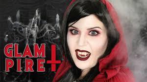 Halloween Makeup Dracula Halloween Makeup Tutorial 5 The Glampire Youtube