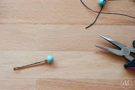 decorative bobby pins diy beaded bobby pins oh my creative