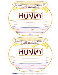 winnie pooh invitations printable invitations winnie the pooh