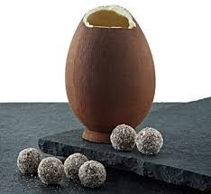 coconut eggs easter eye opening chocolate easter eggs culinary adventures of the