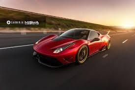 ferrari 458 widebody ferrari 458 italia with misha designs bodykit looks like a mini
