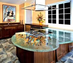 creative kitchen counter top design disguises low cost price