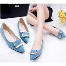 light blue womens dress shoes buy women light blue pointed flat shoes ws 11bl look stylish