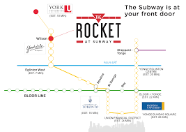 Toronto Subway Map Rocket At Subway