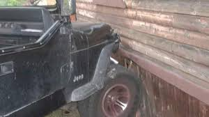 crashed jeep wrangler 3 year old boy crashes jeep wrangler in usa