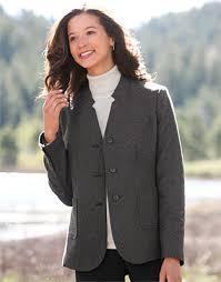 women u0027s dress jacket inverted notch neck jacket orvis uk