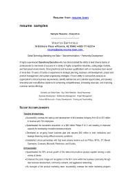 free executive resume free downloadable resumes sles luxury resume format for sales