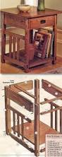 arts u0026 crafts end table plans furniture plans and projects