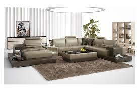 canapé panoramique canapé d angle panoramique en cuir en deux teintes modèle