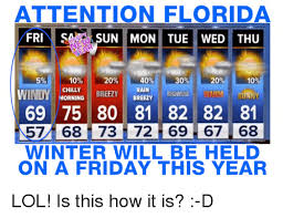 Florida Winter Meme - 25 best memes about florida florida memes