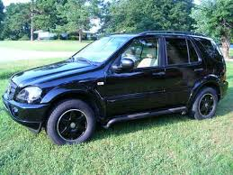 2001 mercedes ml320 sell used 2001 mercedes ml320 sport with trailer hitch in
