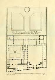 archi maps the floor plan of the hotel de liancourt