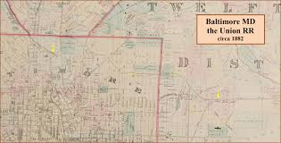 Ohio Railroad Map by Baltimore Railroad History Rsus