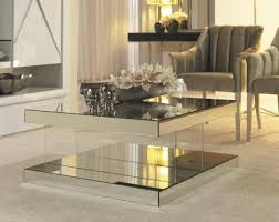 mirror small side tables for living room awesome mirrored