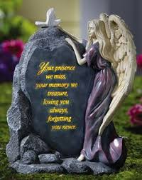 solar butterfly memorial garden stone remembrance u0026 grief