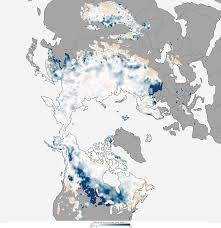 Usa Snow Map by 2013 State Of The Climate Snow In The Northern Hemisphere Noaa