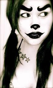 wicked halloween makeup 23 best juggalette images on pinterest halloween ideas costumes
