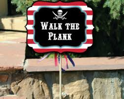 pirate party pirate party decor etsy