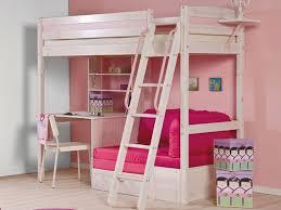 canap mezzanine lit hauteur fille fabrication meuble avec palette bois mezzanine