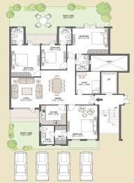 three bedroom ground floor plan outstanding floor plans of emaar mgf emerald floors premier gurgaon